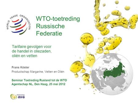 WTO-toetreding. Russische