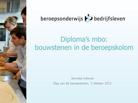 Mbo diploma in belgie