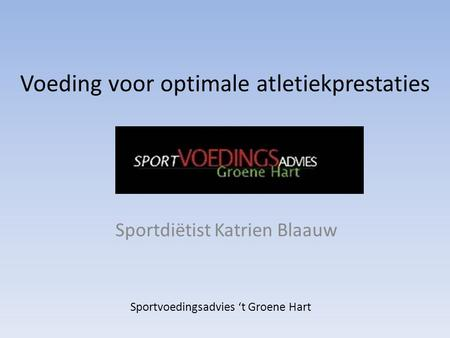 Voeding voor optimale atletiekprestaties