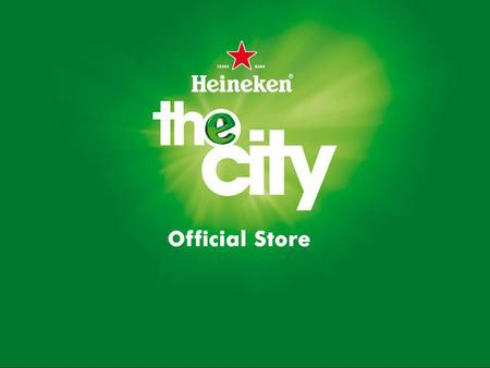 "Bart Bosma ""The Heineken way of life"". 3 Agenda Achtergrond Waarom Heineken the City Wat is Heineken the City Doelstellingen Heineken the City Activiteiten."