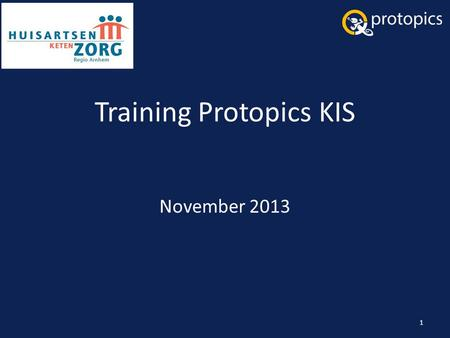Training Protopics KIS