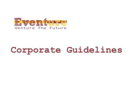 Corporate Guidelines.