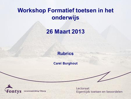 Schermen Workshop Rubrics