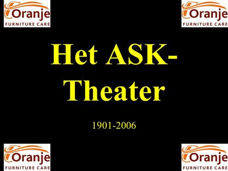 Het ASK-Theater 1901-2006.