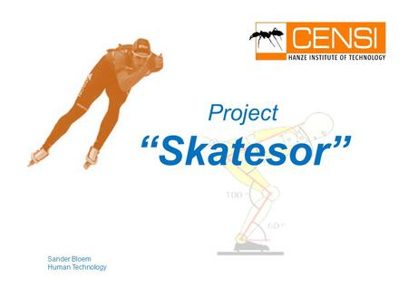 "Sander Bloem Human Technology Project ""Skatesor""."