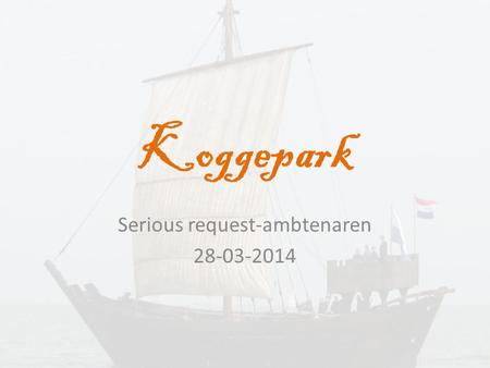 Serious request-ambtenaren