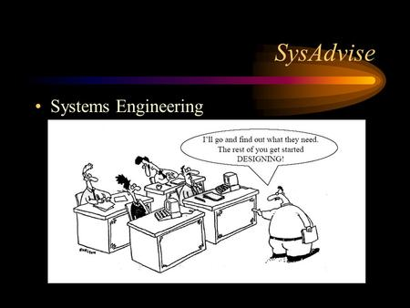 SysAdvise Systems Engineering.