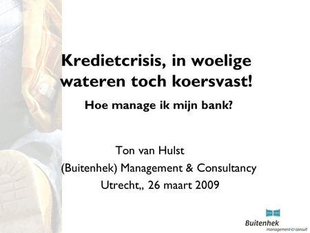 Wie bepaalt de bank rating?