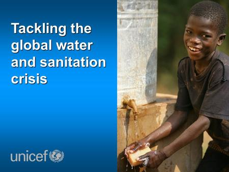 Tackling the global water and sanitation crisis. Waarom is water, sanitatie en hygiene zo belangrijk?
