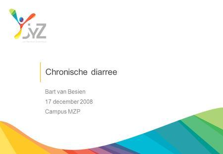 Chronische diarree alcohol