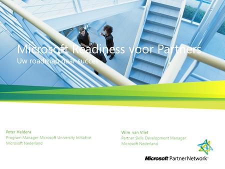 Microsoft Readiness voor Partners