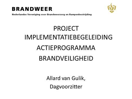 PROJECT IMPLEMENTATIEBEGELEIDING