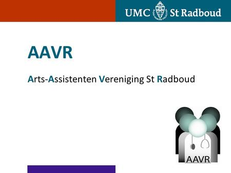 AAVR Arts-Assistenten Vereniging St Radboud