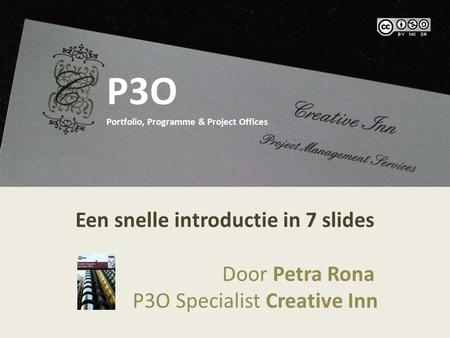 P3O Portfolio, Programme & Project Offices
