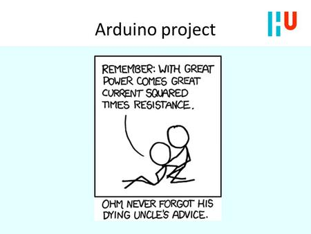 Arduino project.