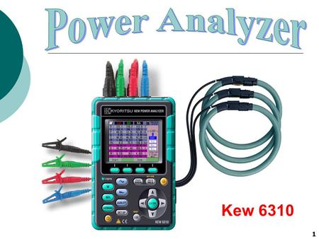 Power Analyzer Kew 6310.