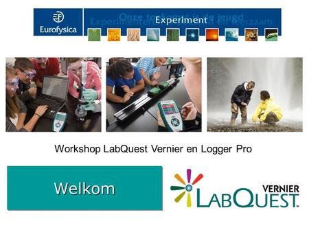 Workshop LabQuest Vernier en Logger Pro