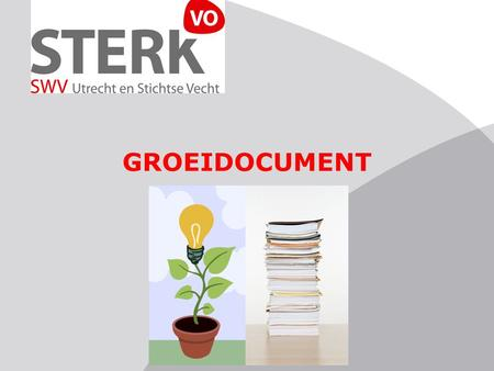GROEIDOCUMENT.