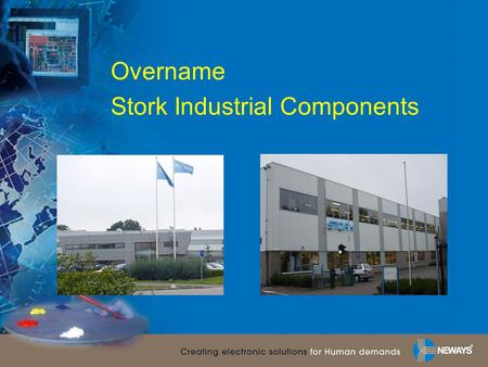 Overname Stork Industrial Components.