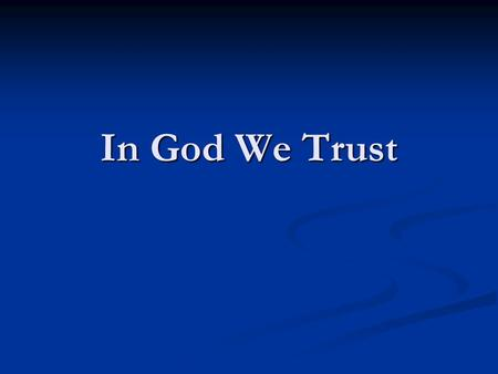 In God We Trust. God zij met ons Northern Rock/Lehman Brothers Northern Rock/Lehman Brothers ING ? SNS ? RABO ? ING ? SNS ? RABO ? Modellen wetenschap.