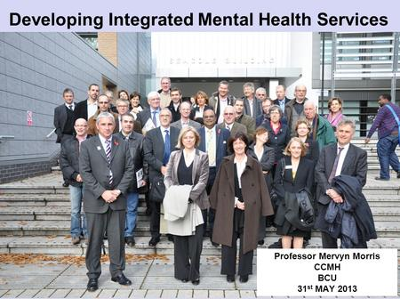 Developing Integrated Mental Health Services