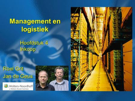 Management en logistiek