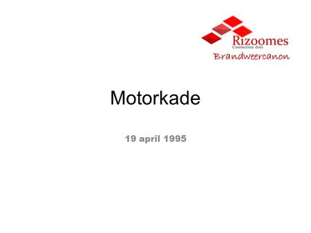 Motorkade 19 april 1995. Inhoudsopgave 1.FeitenrelaasFeitenrelaas 2.Integraal Incidentmanagement model Impactgebied en (Long)TailIntegraal Incidentmanagement.