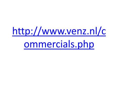 Http://www.venz.nl/commercials.php.