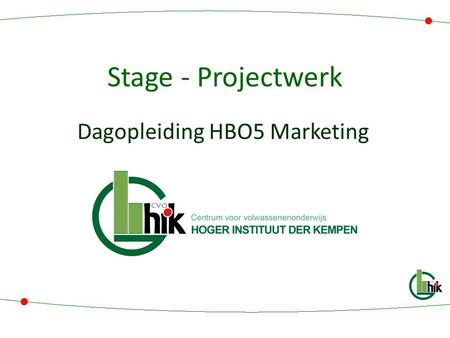 Dagopleiding HBO5 Marketing