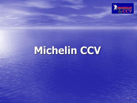1 Michelin CCV. 2 Compact City Vehicles: The next STEP in mobility!