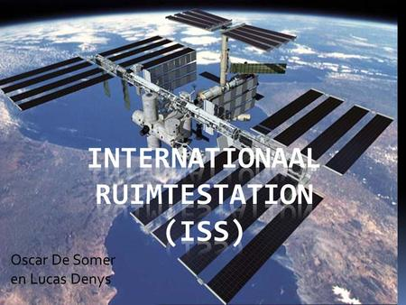 Internationaal ruimtestation (ISS)