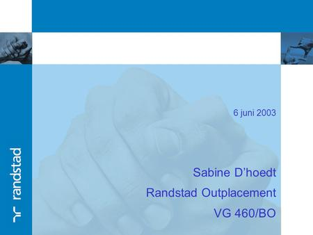 Randstad Outplacement VG 460/BO