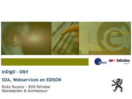 SOA, Webservices en EDISON