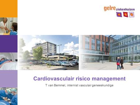 Cardiovasculair risico management