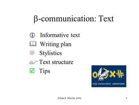 -communication: Text