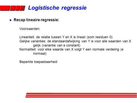 Logistische regressie