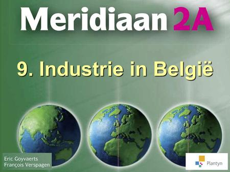 9. Industrie in België.