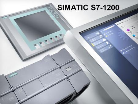 SIMATIC S7-1200.
