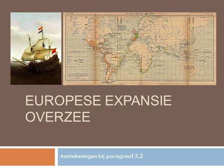 Europese Expansie overzee