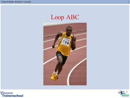 Trainer B Atletiek - Module 2A - Loop-ABC