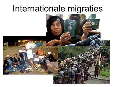 Internationale migraties