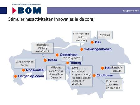 Stimuleringsactiviteiten Innovaties in de zorg