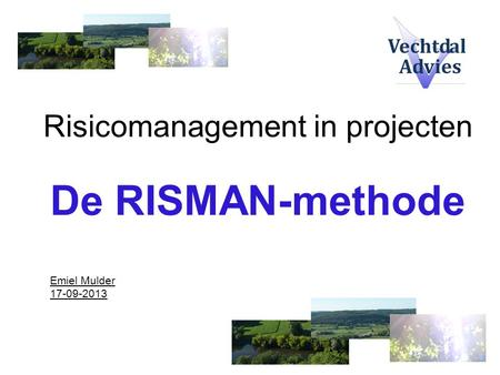 Risicomanagement in projecten