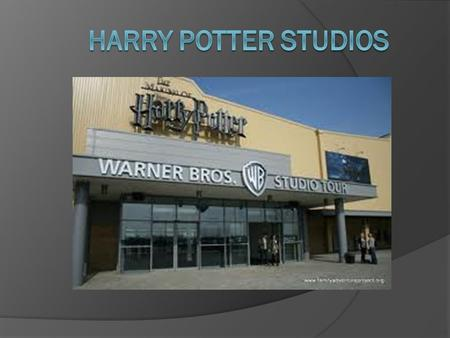 Harry Potter Studios.