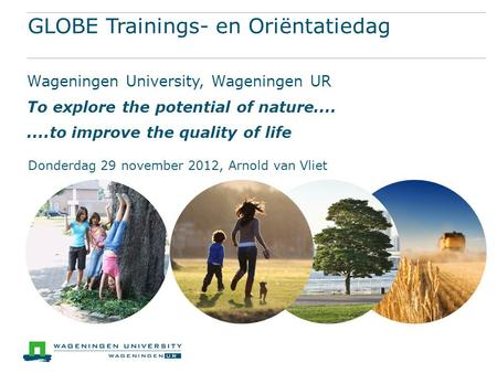 GLOBE Trainings- en Oriëntatiedag