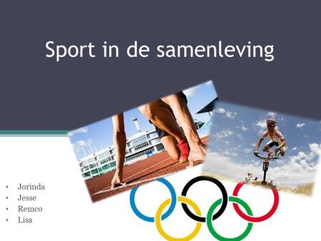 Sport in de samenleving