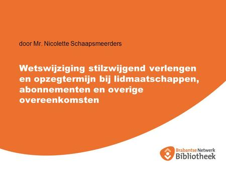 door Mr. Nicolette Schaapsmeerders