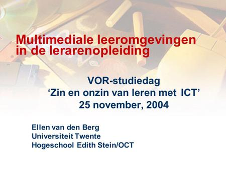 Information & Communication Technology (Eindhoven)