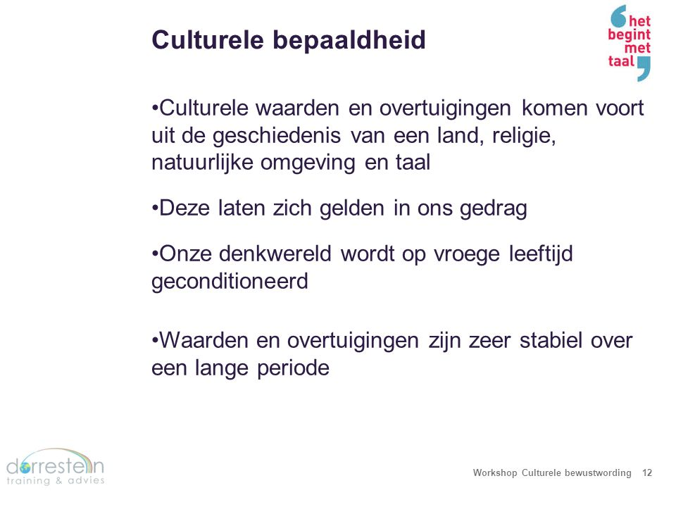 Workshop Culturele bewustwording13
