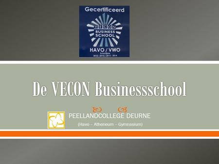 De VECON Businessschool
